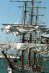 Tall ship San Juan Puerto Rico,The Islands of Enchantment,