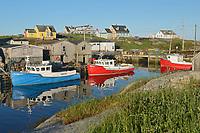 Iconic fishing village in the talantic<br /> Peggy's Cove<br /> Nova Scotia<br /> Canada