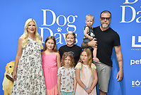 CENTURY CITY, CA - AUGUST 05: Tori Spelling, Dean McDermott and family attend the premiere of LD Entertainment's 'Dog Days' at Westfield Century City on August 5, 2018 in Century City, California.<br /> CAP/ROT<br /> &copy;ROT/Capital Pictures