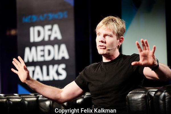 Amsterdam, 22 november 2010.International Documentary Film Festival IDFA.Green Debate at Escape, with Bjorn Lomborg..Photo by Felix Kalkman