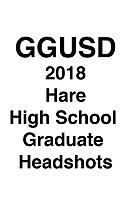 GGUSD 2018 Hare HS Grad headshots