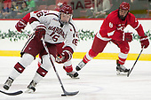 Ryan Donato (Harvard - 16), Holden Anderson (Cornell - 6) - The Harvard University Crimson defeated the visiting Cornell University Big Red on Saturday, November 5, 2016, at the Bright-Landry Hockey Center in Boston, Massachusetts.