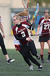 Santa Barbara, CA 02/19/11 - Kari Hansen (Minnesota-Duluth #3) in action during the Stanford - Minnesota-Duluth game at the 2011 Santa Barbara Shootout.