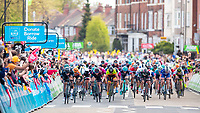 Picture by SWpix.com - 09/04/2018 Cycling - 2018 Tour de Yorkshire photography brief. Stage 1,2,3,4 3rd to 6th May and Stage 1, 2 of the ASDA Tour de Yorkshire Women's race<br /> UpAndDownDale - Yorkshire Bank, Bike Libraries, Mugshot, Virgin Trains, Dimension Data, Named Sport, Global Autocare, RAGT, branding