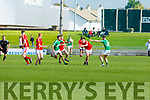Action from East Kerry V St Kierans in the Minor County Football Championship Final on Sunday.