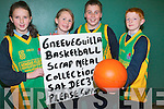 Gneeveguilla Basketball club are holding a scrap metal fund-raiser on December 3rd at Dillane's Garage from 8am -2pm. .L-R Maura Amy O'Connor, Aileen O'Halloran, Padraig Dillane and Brian Brosnan.
