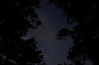 Stars are seen over Lake Ouachita, Arkansas on Thursday, Sept. 7, 2017. (Photo by James Brosher)