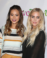 "Hollywood, CA - NOVEMBER 07: Jaime Chung, Ashlee Simpson at Premiere Of ""God vs Trump"" At TCL Chinese Theatre, California on November 07, 2016. Credit: Faye Sadou/MediaPunch"