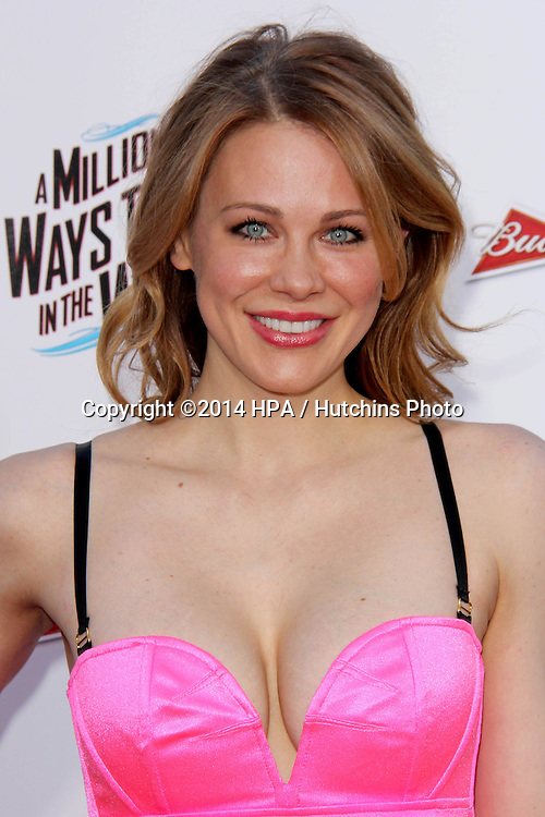 "LOS ANGELES - MAY 15:  Maitland Ward at the ""A Million Ways To Die In The West"" World Premiere at Village Theater on May 15, 2014 in Westwood, CA"