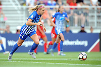 Boyds, MD - Saturday August 12, 2017:Megan Oyster during a regular season National Women's Soccer League (NWSL) match between the Washington Spirit and The Boston Breakers at Maureen Hendricks Field, Maryland SoccerPlex.