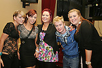 Aine O'Sullivan, Allie Smith, Ciara Broghton, Glen O'Malley and Sophie O'Halloran in the Star and Crescent....Photo NEWSFILE/Jenny Matthews.(Photo credit should read Jenny Matthews/NEWSFILE)....This Picture has been sent you under the condtions enclosed by:.Newsfile Ltd..The Studio,.Millmount Abbey,.Drogheda,.Co Meath..Ireland..Tel: +353(0)41-9871240.Fax: +353(0)41-9871260.GSM: +353(0)86-2500958.email: pictures@newsfile.ie.www.newsfile.ie.FTP: 193.120.102.198.