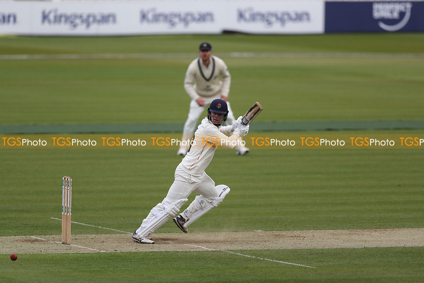 Brooke Guest of Lancashire CCC plays backward of point for runs during Middlesex CCC vs Lancashire CCC, Specsavers County Championship Division 2 Cricket at Lord's Cricket Ground on 12th April 2019