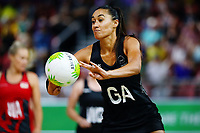 Maria Folau of New Zealand in action. Gold Coast 2018 Commonwealth Games, Netball, New Zealand Silver Ferns v England, Gold Coast Convention and Exhibition Centre, Gold Coast, Australia. 11 April 2018 © Copyright Photo: Anthony Au-Yeung / www.photosport.nz /SWpix.com