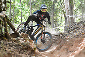 8th September 2017, Smithfield Forest, Cairns, Australia; UCI Mountain Bike World Championships;  Bruce Klein (USA)during the downhill official timed session;