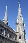 WATERBURY CT. 11 March 2018-031119SV04-The spires at St. Anne Church need rebuilding in Waterbury.<br /> Steven Valenti Republican-American