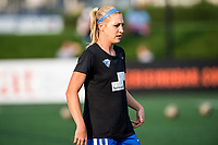 Boston, MA - Sunday September 10, 2017: Megan Oyster during a regular season National Women's Soccer League (NWSL) match between the Boston Breakers and Portland Thorns FC at Jordan Field.