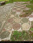Baths of Caracalla Floor Mosaics East Palaestra (Greek Wrestling Room) Aventine Hill Rome