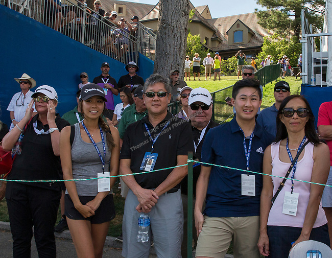 A photograph taken during the Barracuda Championship PGA golf tournament at Montrêux Golf and Country Club in Reno, Nevada on Sunday, July 28, 2019.
