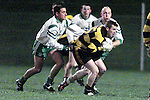 Action between St. Patrick's and Dunshaughlin in Simonstown..Picture Paul Mohan Newsfile