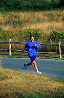 Female runner.