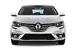 Car photography straight front view of a 2016 Renault Megane Bose 5 Door Hatchback Front View
