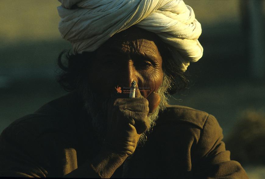 Portrait of Rajastani Man