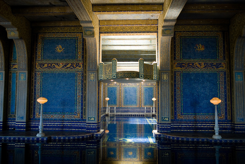 A photo gallery of images captured at Hearst Castle in 2007.