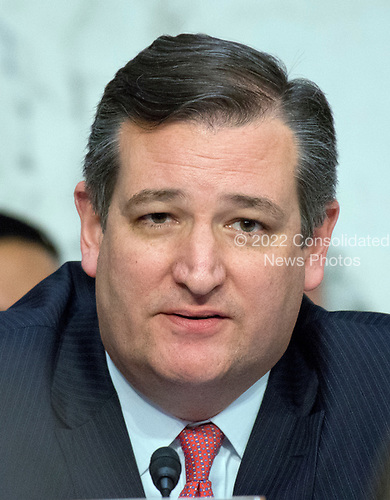 United States Senator Ted Cruz (Republican of Texas) listens to testimony before the US Senate Committee on the Judiciary Subcommittee on Crime and Terrorism hearing titled &ldquo;Russian Interference in the 2016 United States Election&rdquo; on Capitol Hill in Washington, DC on Monday, May 8, 2017.<br /> Credit: Ron Sachs / CNP<br /> (RESTRICTION: NO New York or New Jersey Newspapers or newspapers within a 75 mile radius of New York City)