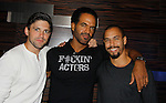 Joyce Becker's Soap Opera Festival brings actors from Young and Restless - Robert Adamson & Kristoff St. John & Bryton James on September 26, 2015 to Caesers Horseshoe Casino in Baltimore, Maryland for a Q&A with fans with a drawing for lucky fans to meet the actors for autographs and photos.  (Photo by Sue Coflin/Max Photos)