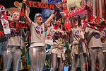 27. 02.2019, Maritim Hotel , Koeln,  GER, Karnevalssitzung des 1. FC Koeln , <br /> <br /> im Bild / picture shows: <br /> die Cheerleader des FC als Nasa Austronautinen verkleidet <br /> <br /> Foto © nordphoto / Meuter