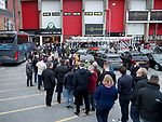 Sheffield United fans outside Bamall Lane during the English League One match at the Bramall Lane Stadium, Sheffield. Picture date: April 5th, 2017. Pic credit should read: Jamie Tyerman/Sportimage