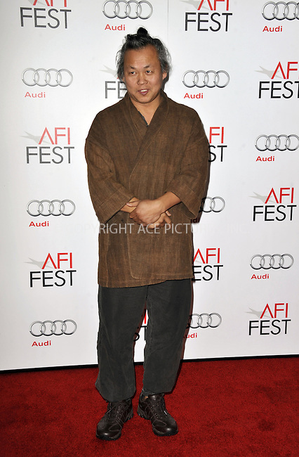 WWW.ACEPIXS.COM....November 2 2012, LA....Kim Ki-Duk arriving at the 2012 AFI FEST Los Angeles Times Young Hollywood Panel at Grauman's Chinese Theatre on November 2, 2012 in Hollywood, California.....By Line: Peter West/ACE Pictures......ACE Pictures, Inc...tel: 646 769 0430..Email: info@acepixs.com..www.acepixs.com
