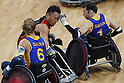 Yukinobu Ike (JPN),<br /> SEPTEMBER 14, 2016 - WheelChair Rugby : <br /> Preliminary Round Group A<br /> match Japan - Sweden<br /> at Carioca Arena 1 during the Rio 2016 Paralympic Games in Rio de Janeiro, Brazil.<br /> (Photo by Shingo Ito/AFLO)