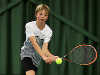March 13, 2015, Netherlands, Rotterdam, TC Victoria, NOJK, Liam Liles (NED)<br /> Photo: Tennisimages/Henk Koster