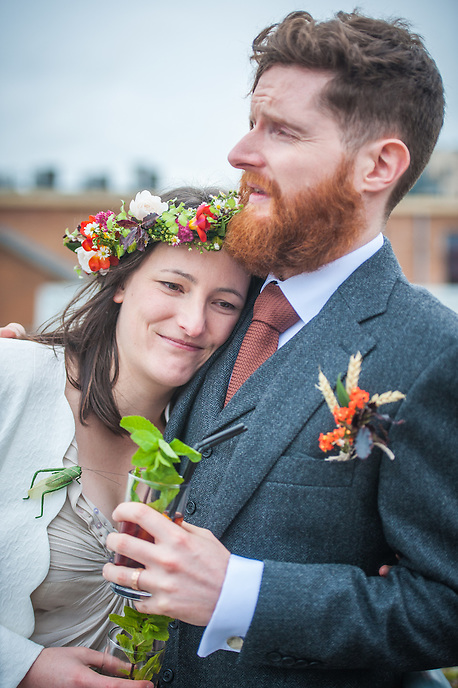An image from Marieke and Stephen's Wedding Day.