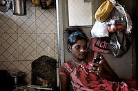 Saraswati is 16 and has been a sex worker for at least 3 years. She is Devadasi and comes from Mudhol, a village in Karnataka where many of the Devadasi girls are from.