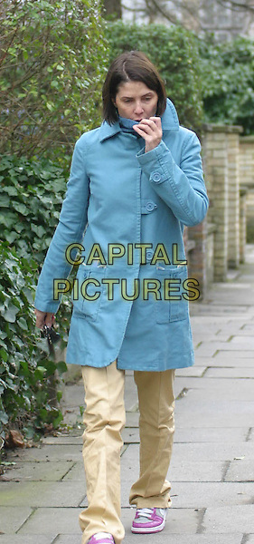 Tired looking SADIE FROST leaves her London home .Ref: ZED.© Capital Pictures.Tel: +44 (0)0 7253 1122.www.capitalpictures.com.sales@capitalpictures.com.blue duffel coat