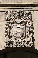 decorative coat of arms , Leon spain castile and leon