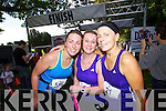 Olivia O'Shea, Anne Kelliher and Maureen Bowler who took part in the Killarney Women's Mini Marathon on Saturday last.
