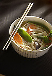 Jan. 16, 2003.   A chinese noodle soup, cooked by Mei Hamilton at her home in Longmont.   photo by ellen jaskol...
