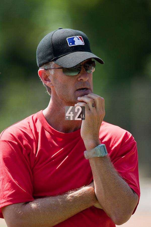 Baseball - MLB European Academy - Tirrenia (Italy) - 22/08/2009 - Brent Mayne