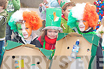 Ethan Hunt, Niamh Denham and Joesph Hunt at the Milltown St Patricks day parade on Monday   Copyright Kerry's Eye 2008