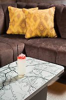 The Ellis-Stone cocktail (Vodka, Green Chartreuse, Ginger and Peychaud's) at The Counting House Bar in the 21c Hotel in Durham, N.C. on Sunday, March 8, 2015. (Justin Cook)