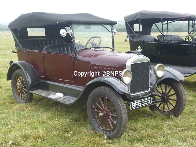 BNPS.co.uk (01202 558833)<br /> Pic: PhilYeomans/BNPS<br /> <br /> Yours for £13,500 - 1926 Model T tourer.<br /> <br /> Garage that time forgot...<br /> <br /> Business is booming at Neil Tuckets time warp garage in the heart of Buckinghamshire - Where you can by any car…as long as its a Model T Ford.<br /> <br /> Despite his newest models being nearly 90 years old, Neil struggles to keep up with demand with customers snapping up one a week, despite their rudimentary levels of comfort and trim.<br /> <br /> Neil sources his spares from all over the globe and carefully puts the machines back together again.<br /> <br /> 'There like a giant meccano set really, and so beautifully simple and reliable they just won't let you down...You also don't require road tax or and MOT!'