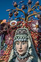 Rose Parade, Floats, Pasadena Ca, 2015