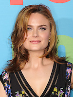 NEW YORK CITY, NY, USA - MAY 12: Emily Deschanel at the FOX 2014 Programming Presentation held at the FOX Fanfront on May 12, 2014 in New York City, New York, United States. (Photo by Celebrity Monitor)