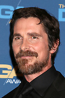 LOS ANGELES - FEB 2:  Christian Bale at the 2019 Directors Guild of America Awards at the Dolby Ballroom on February 2, 2019 in Los Angeles, CA
