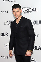 BROOKLYN, NY - NOVEMBER 13: Nick Jonas  at Glamour's 2017 Women Of The Year Awards at the Kings Theater in Brooklyn, New York City on November 13, 2017. Credit: John Palmer/MediaPunch