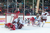 Patrick Curry (BU - 11), Jack Suter (UMass - 10), Ryan Wischow (UMass - 1), Ryan Cloonan (BU - 8), Jake McLaughlin (UMass - 28), Shane Bear (UMass - 24) - The Boston University Terriers defeated the University of Massachusetts Minutemen 5-3 on Sunday, January 8, 2017, at Fenway Park in Boston, Massachusetts.The Boston University Terriers defeated the University of Massachusetts Minutemen 5-3 on Sunday, January 8, 2017, at Fenway Park.