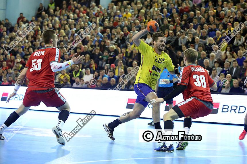 Handbal masculin: Romania - Austria 32-29 (15-15)